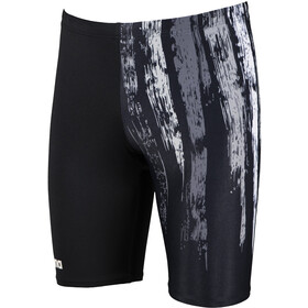 arena Team Painted Stripes Jammer Heren, black/multi grey